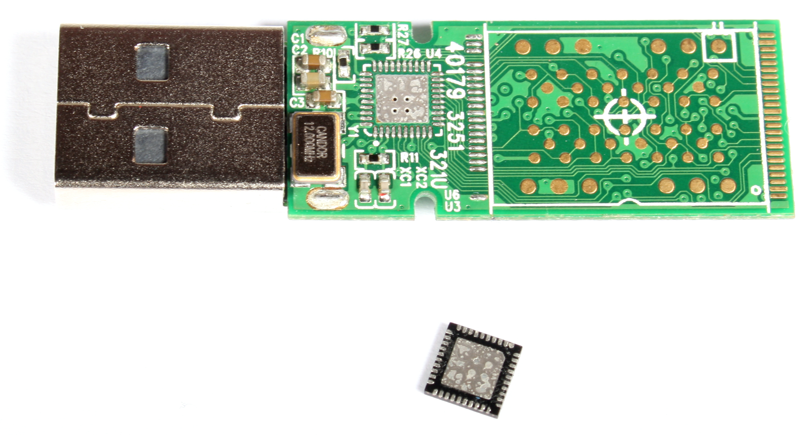 how to make flash memory chip